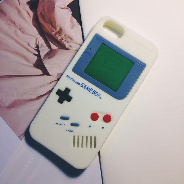 保留。Gameboy 手機殼 iPhone 5/5s/se 軟殼 保護殼