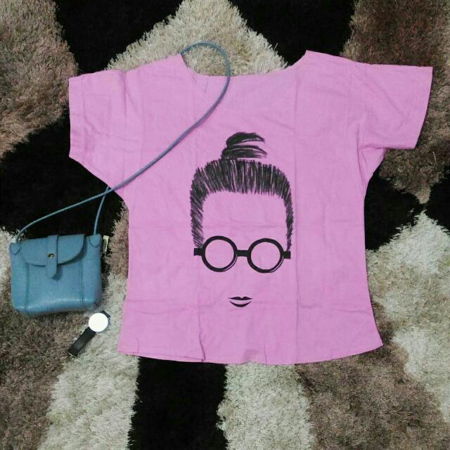 Glasses Oversized T-shirt