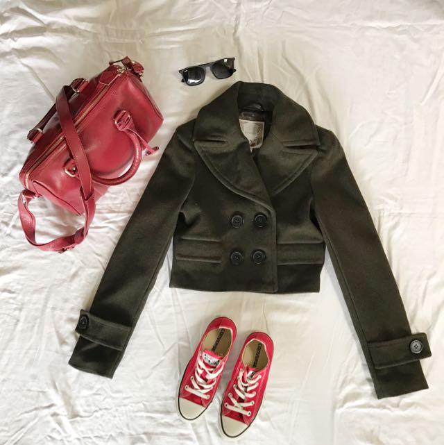 Glassons Cropped Coat