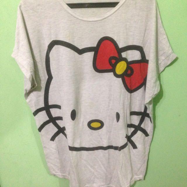 Hello Kitty T-shirt *NO MERK*