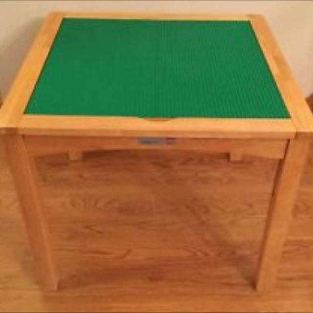 Imaginarium Lego Table With Ottomans, Imaginarium Lego Table With Chairs