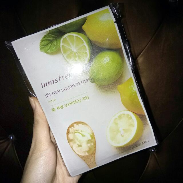 Innisfree Lemon Mask