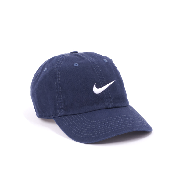 INSTOCKS 100% Authentic  Nike Heritage 86 Swoosh Cap Navy Blue ... c49902dc3f8