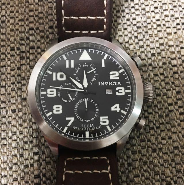 Invicta 44mm Quartz Pilot Watch Model 0350 c626b3a46