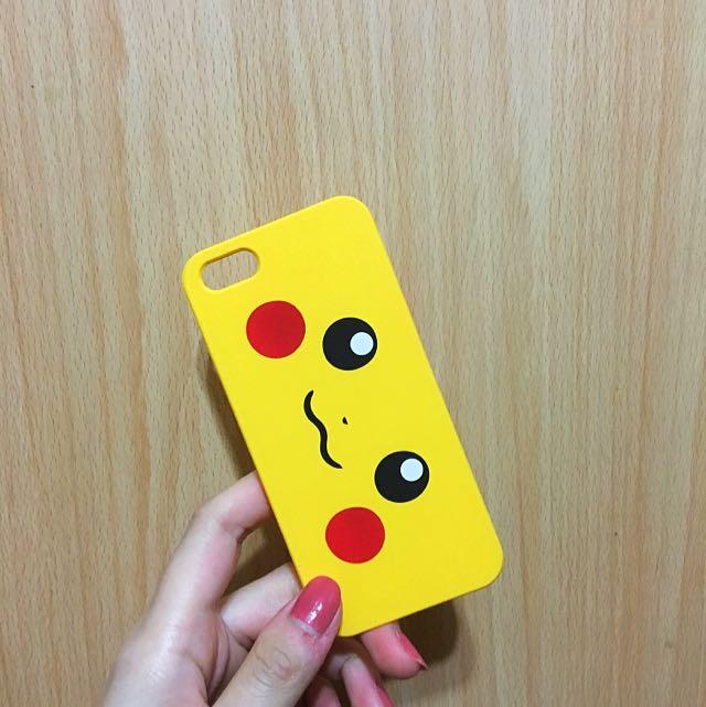iPhone 蘋果 皮卡丘 手機殼 5S