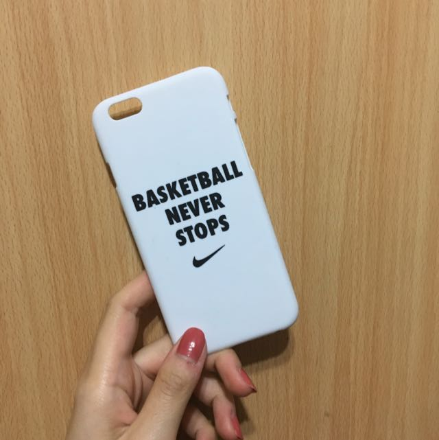 iPhone 蘋果手機殼 Basketball Never Stops 6/6s