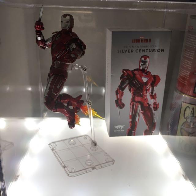 Iron Man Mk XXXIII Silver Centurion