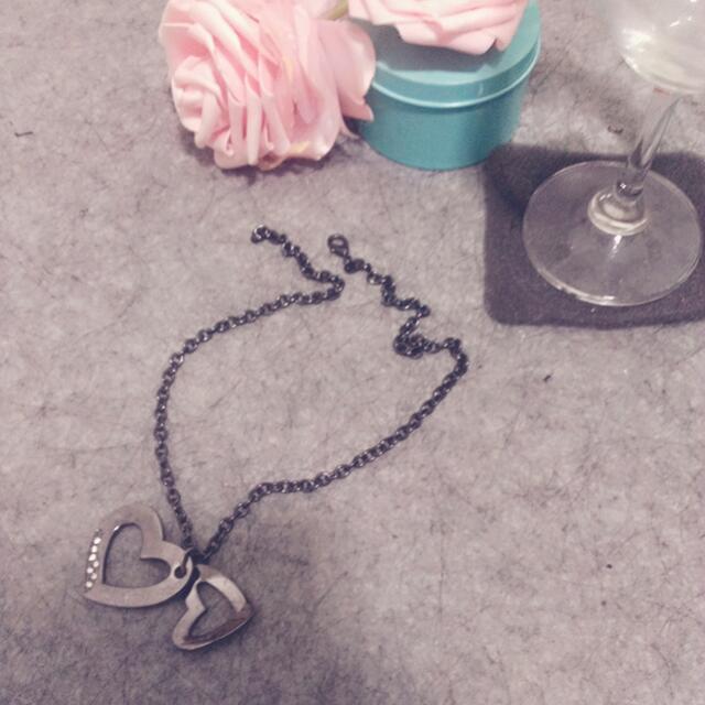 Jojo 玫瑰金 愛心項鍊