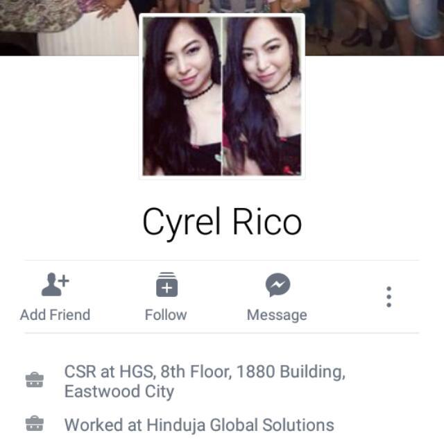 Joy Reserver.  CYREL RICO