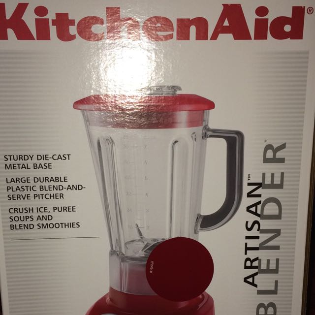 Kitchen Aid Artisan Blender Red