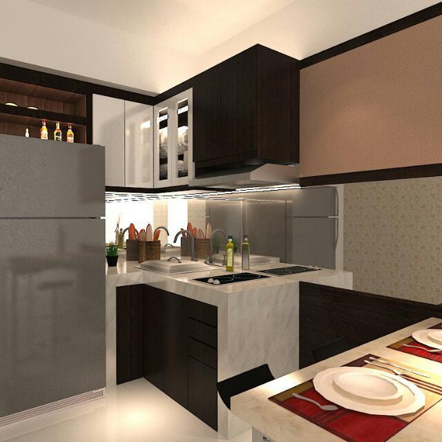 Kitchen Set Untuk Rumah & Apartement