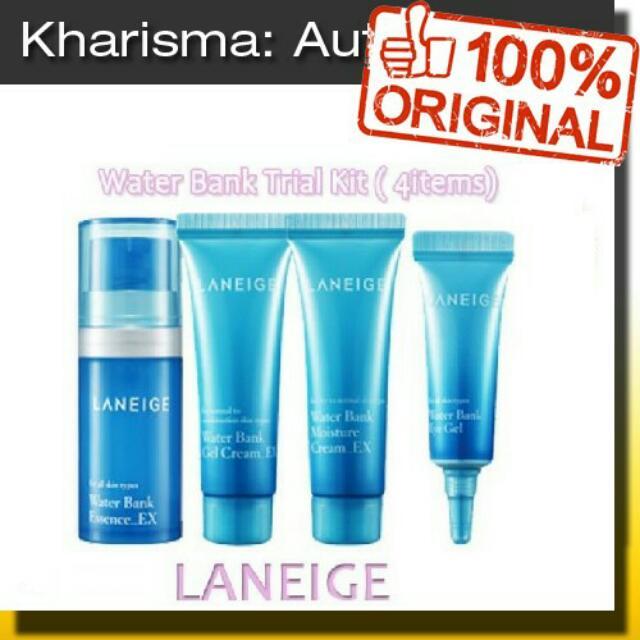 Laneige Water Bank Trial Kit Original