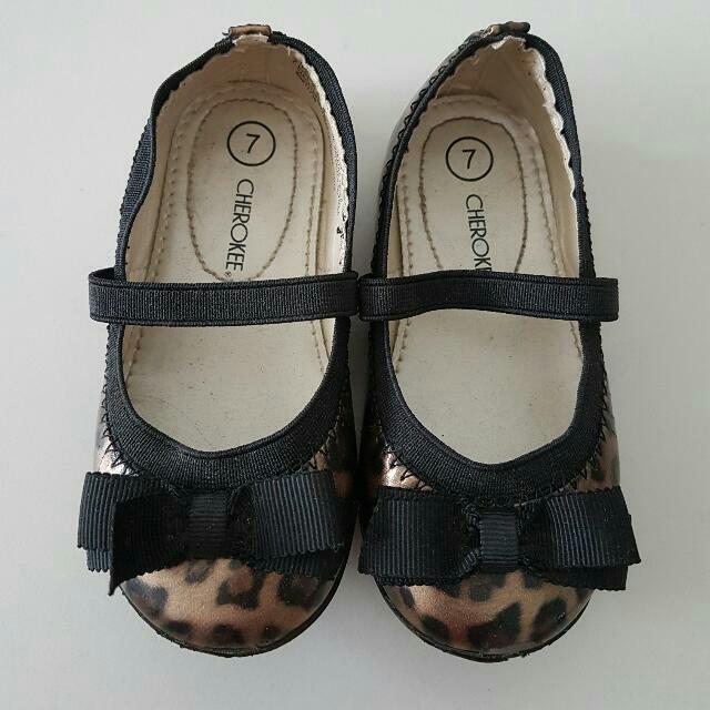 Leopard Print Mary Jane Shoes, Babies