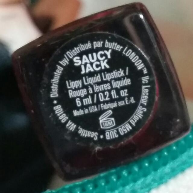 Lippy Butter London Shade Saucy Jack