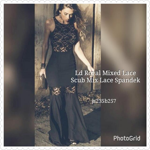 Longdress Royal Mixed Lace