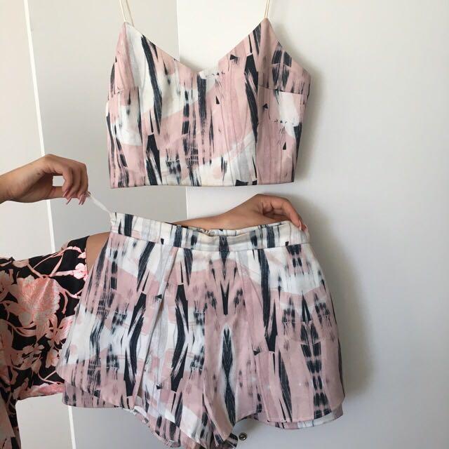 Luvalot Crop & Shorts