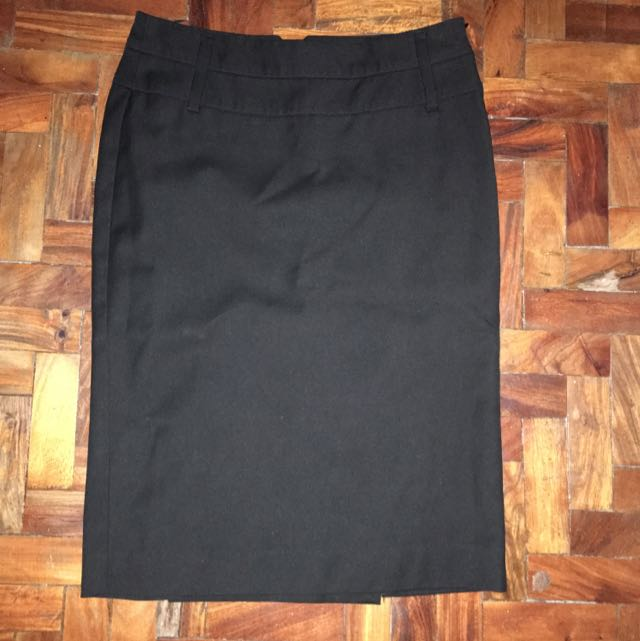 Mango Black Skirt