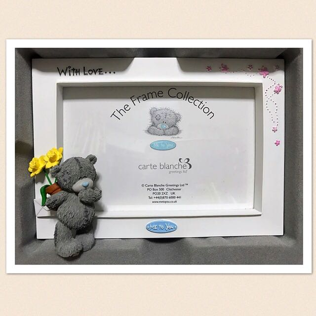 Me To You Tatty Teddy Photo Frame, Photography on Carousell