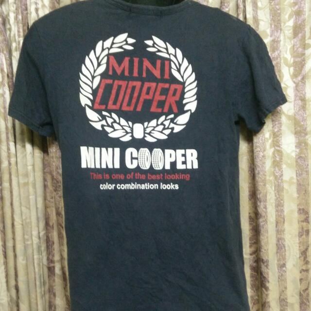 Mini Cooper T Shirt Mens Fashion Clothes On Carousell