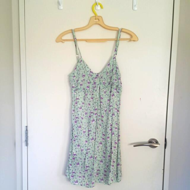 Mint Green Summer Dress