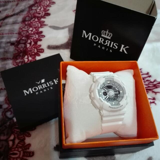 MORRISK白色手錶