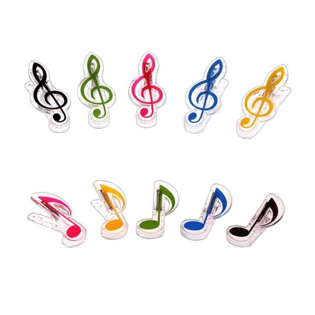 Music Paper Clip / Klip Musik