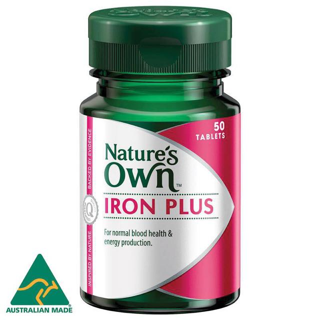 Nature's Own Iron Plus