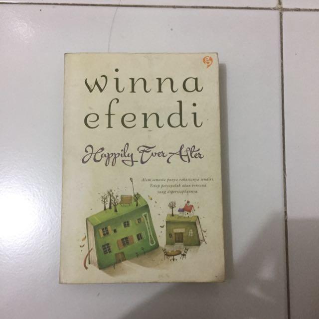 Novel Happily Ever After Winna Efendi