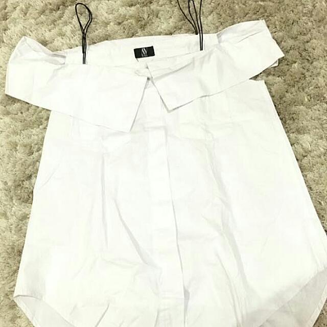 Ovgal Off Shoulder Shirt