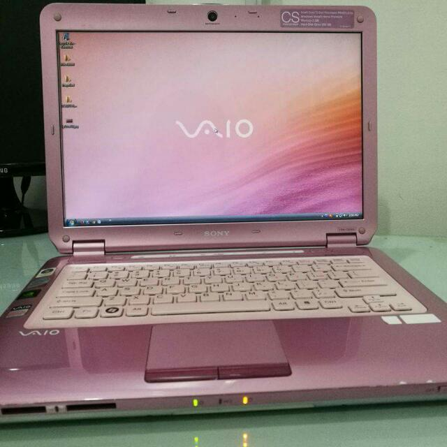 REPRICED - Pink Sony Vaio Laptop