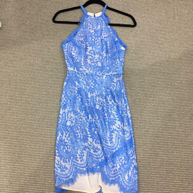 Portmans Lace Halter Dress Size 6