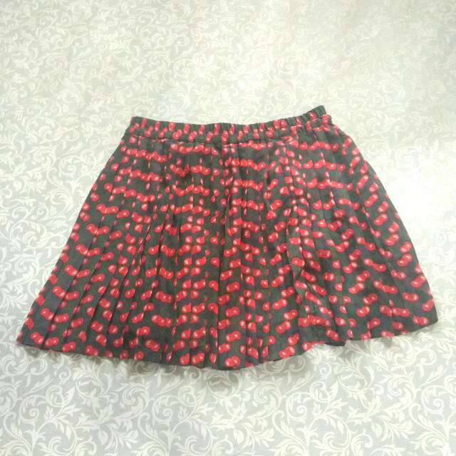 [PRELOVED] Vero Moda Cherry Mini Skirt