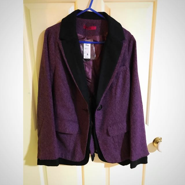 Purple Blazer Never Worn