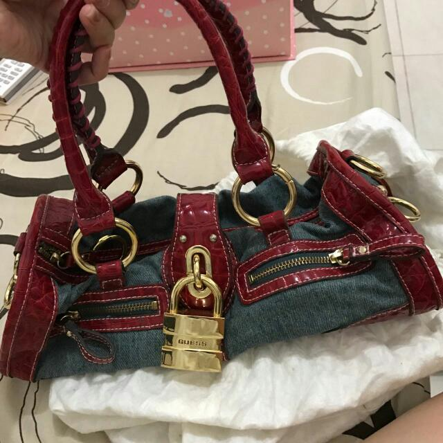 Red Guess Bag (ORI)