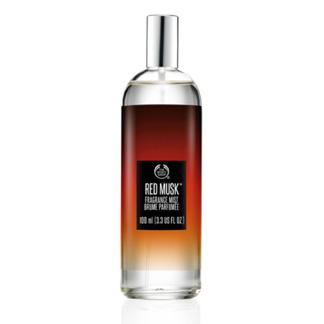 Red Musk Fragrance Mist by The Body Shop