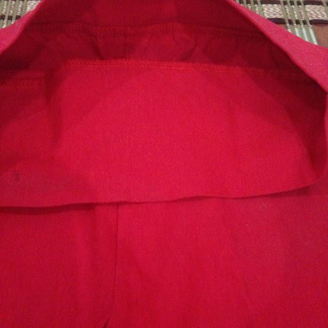 Red pants (cotton)