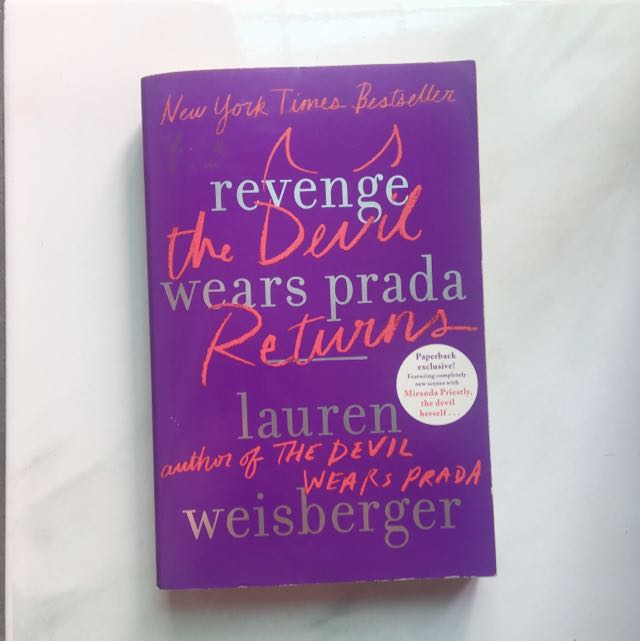 Revenge Wears Prada Novel