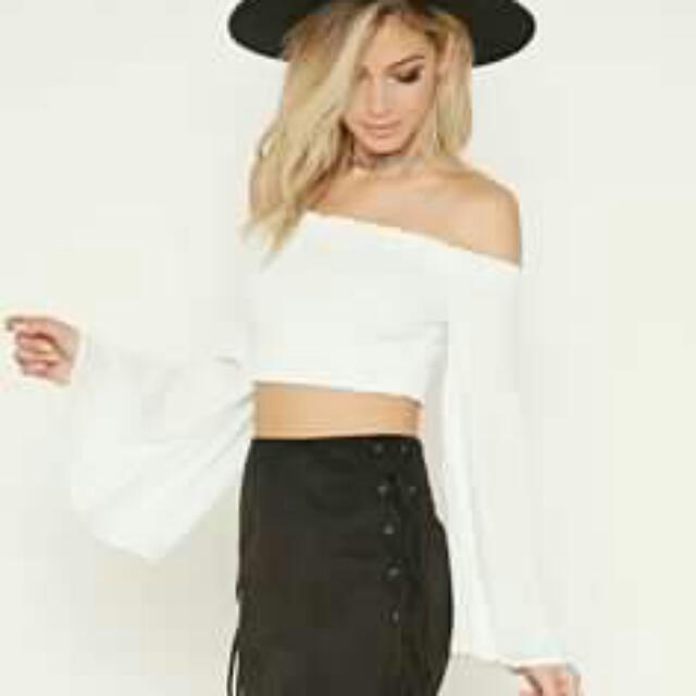 Rise Of Dawn Flare Crop Top