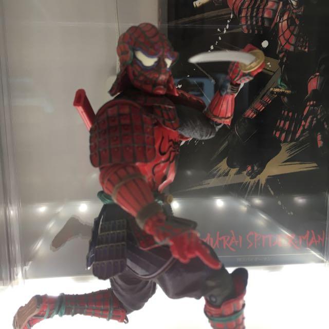 Samurai Spider-Man Figure