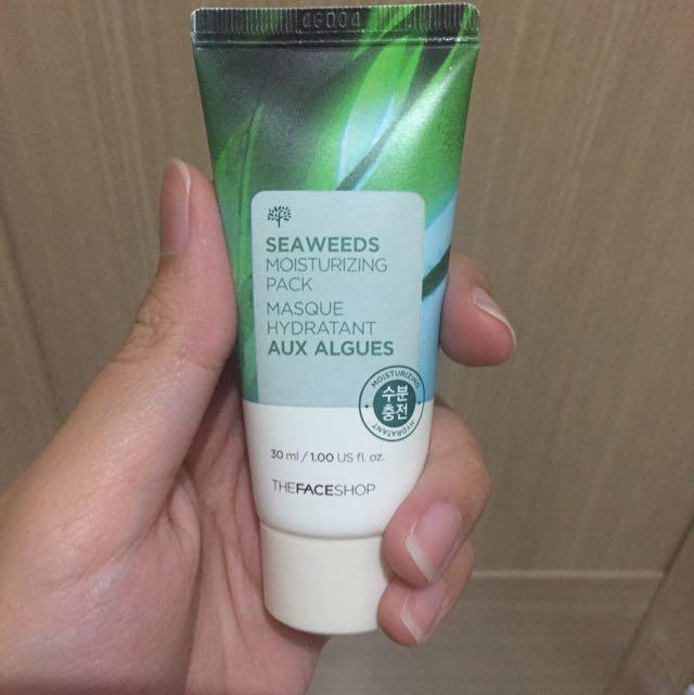 Seaweeds Moisturizing Pack(The Face Shop)