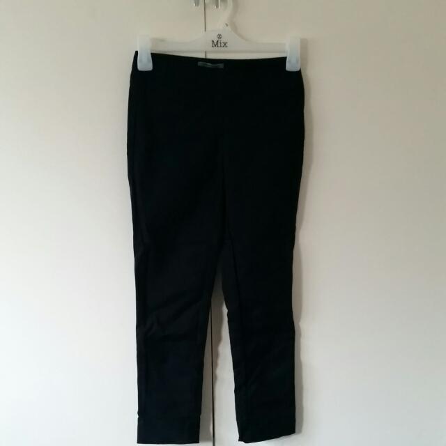 Size 6 Marcs Tapered Black Pants