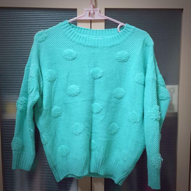 Statmimi蒂芬妮綠點點毛衣