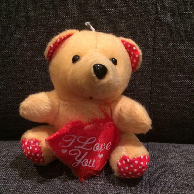 """Tiny Bear """"I Love You"""""""