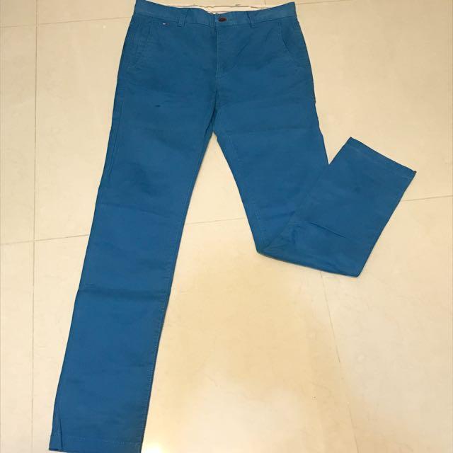 Tommy Hilfiger 藍色休閒褲