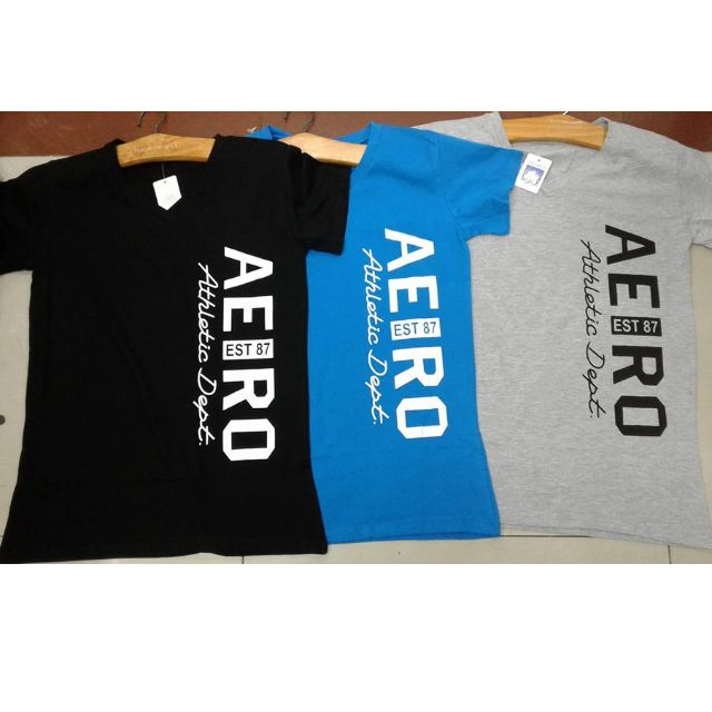 tshirt aero for only php 340 per pc. fit to sizes from small to large-100% cotton and stretchable-good fabric-free shipping/delivery-for order contact me at 09169361476-for more items visit/add our facebook at bersel entrprises-then have a chat with us
