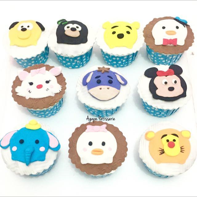 Tsumtsum Cupcakes