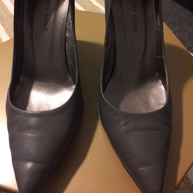 Urban Sole Grey 11inch Heel Size 9