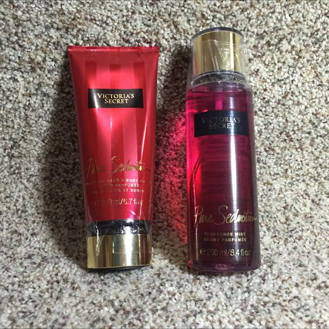Victoria Secret Hand And Body Cream And Perfume Set