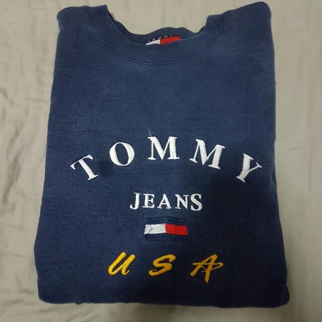 Vintage Tommy Hilfiger Jeans Sweater/ Crewneck