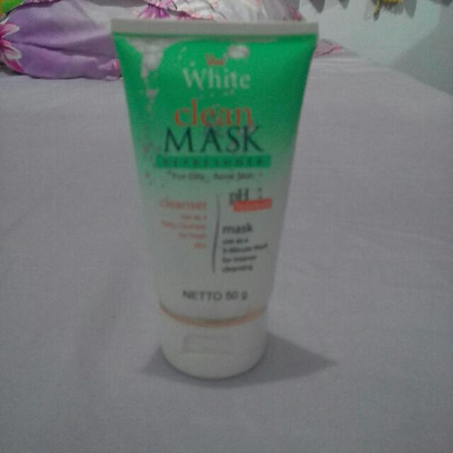 Viva White Clean And Mask #tisgratis